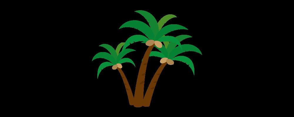ヤシの木のイラスト素材