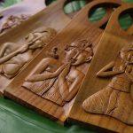 木製 ドアプレート