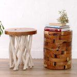 リサイクルウッド サイドテーブル