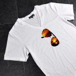 Tシャツ サングラスプリント