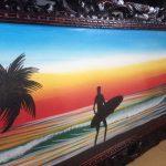 バリ ビーチ絵画